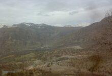کوه منگشت از نظر موقعیت مکانی و گونه های گیاهی